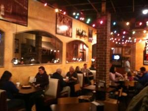 Cafe 7 inside
